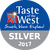 Taste of the West Silver winner Taste of the West 2017