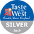 Taste of the West Silver winner Taste of the West 2019